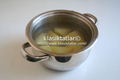 haşlanmış patates patates salatası