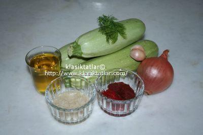 pirinçli kabak malzemesi pirinçli kabak yemeği