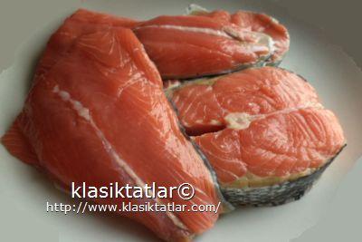 somon fileto dilim somon balığı tava