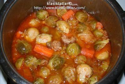 etli brüksel lahanası 1