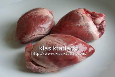 kuzu yürek kuzu yürek ızgara