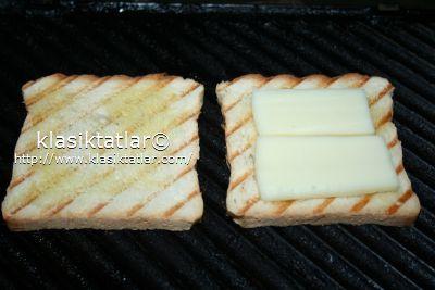 kaşar ekmek kaşar peynirli tost