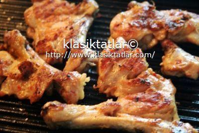 ızgara tavuk pirzola hafif soslu terbiyeli tavuk pirzola