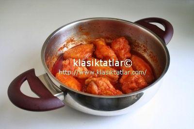 acı soslu kanat acı soslu tavuk kanat