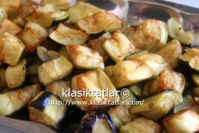 patlıcan kızartma patlıcan musakka