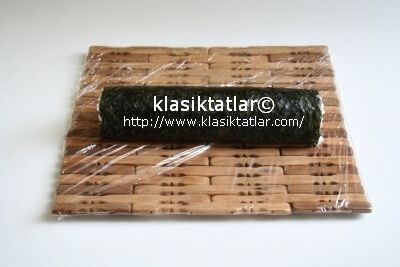 suşi rulo suşi nasıl yapılır