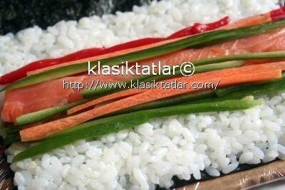 suşi salata havuç suşi nasıl yapılır
