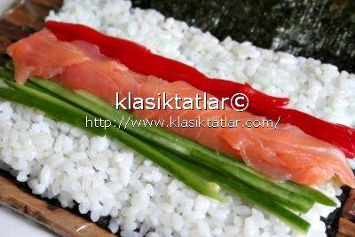 suşi somon suşi nasıl yapılır