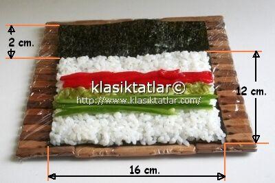 suşi yapımı suşi nasıl yapılır