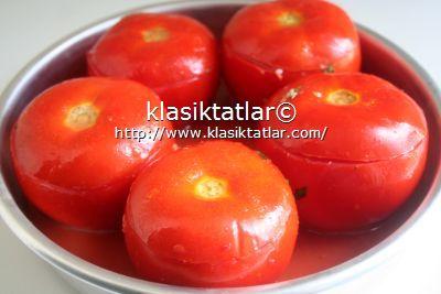 domates dolması fırında kıymalı domates dolması