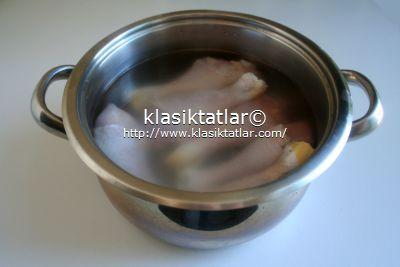 incik salamura fırında acı soslu tavuk baget
