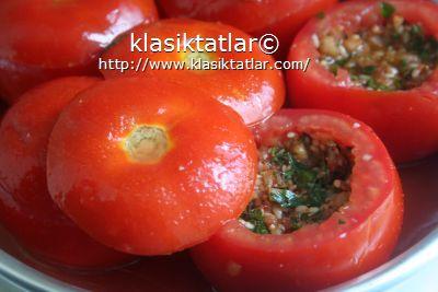 kıymalı domates dolması fırında fırında kıymalı domates dolması