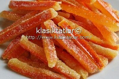 portakal şekerlemesi portakal şekeri