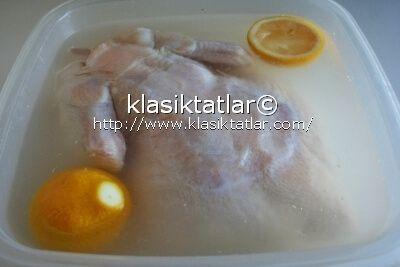 tavuk salamura fırında salamura tavuk kızartma