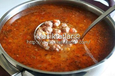 yeşil mercimekli köfte çorbası mercimekli köfte çorbası