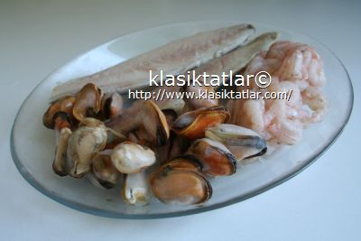 deniz ürünleri deniz ürünleri yahnisi