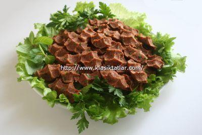 etli çiğ köfte etli çiğ köfte yapımı