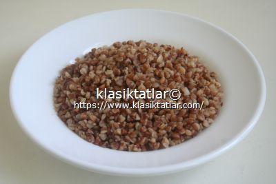 karabuğday pilavı