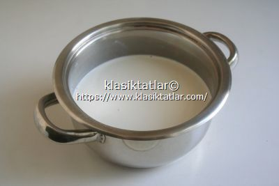 süt kreması