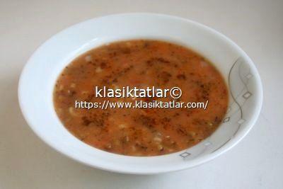 maş fasulyesi çorbası