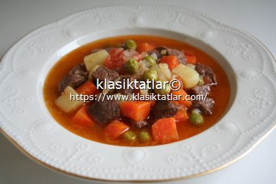 sebzeli tas kebabı