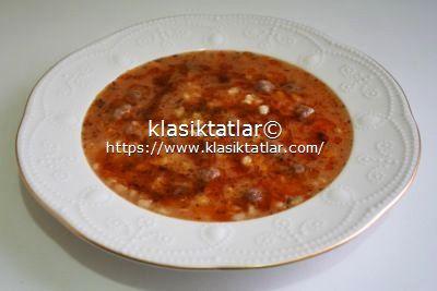köfteli buğday çorbası