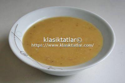 düdüklü tencerede kırmızı mercimek çorbası