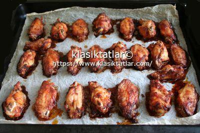 pişmiş tavuk kanat