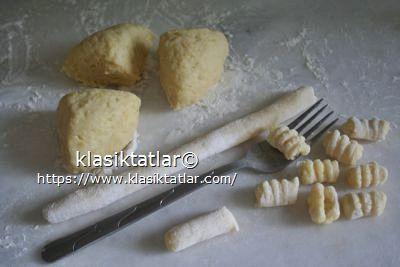 gnocchi yapımı