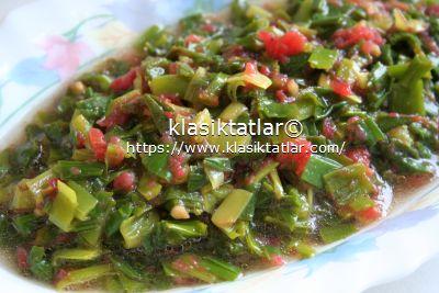yabani pırasa salatası