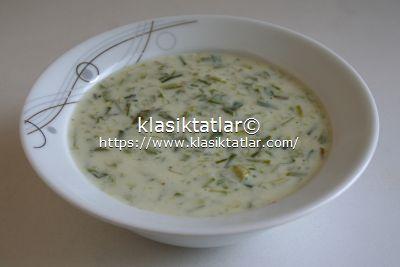 sütlü çiriş çorbası